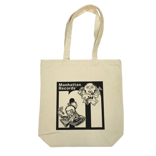 TABOO1 × KAZZROCK × MANHATTAN RECORDS TOTE BAG