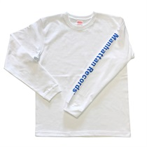 MANHATTAN LONG SLEEVE TEE WHITE(L)