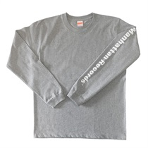 MANHATTAN LONG SLEEVE TEE GRAY(M)