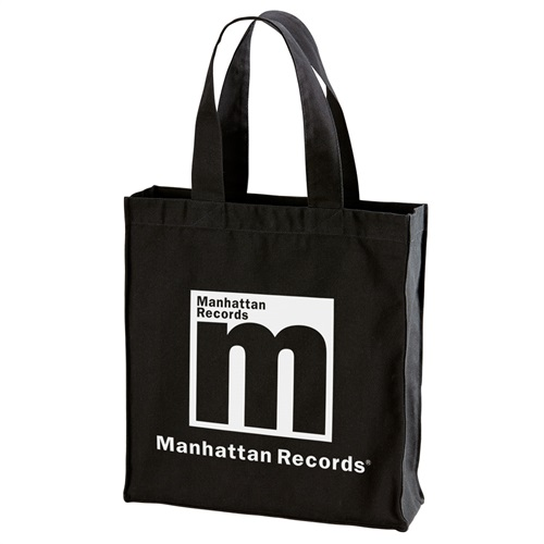 MANHATTAN CANVAS TOTE BAG(BLACK)