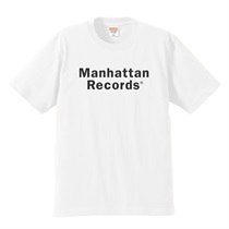 JAMBOX PARLOUR × MANHATTAN RECORDS TEE WHITE(M)