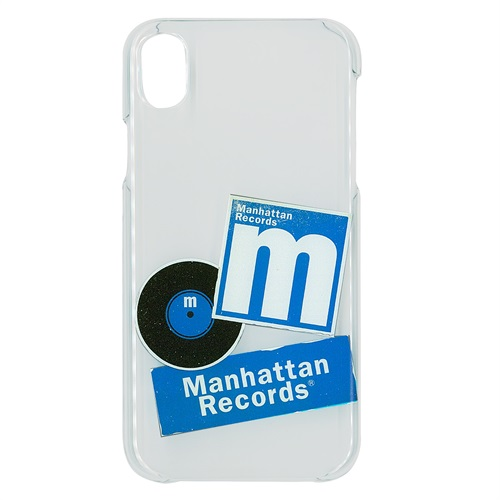 iPHONE X/XS CASE (STICKER/CLEAR)
