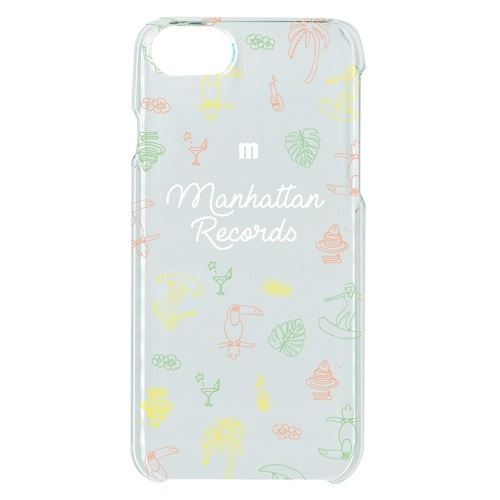 iPHONE 7/8 CASE (TROPICAL/CLEAR)