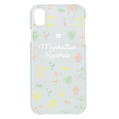 iPHONE XR CASE (TROPICAL/CLEAR)