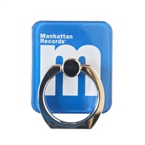 M LOGO SMARTPHONE RING (BLUE)