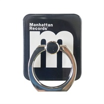 M LOGO SMARTPHONE RING (BLACK)