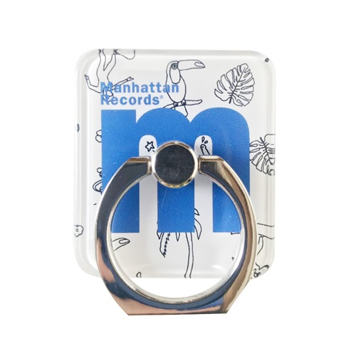 M LOGO SMARTPHONE RING (TROPICAL BLUE)