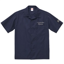 MANHATTAN OPEN COLOR SHIRT DARK NAVY(L)