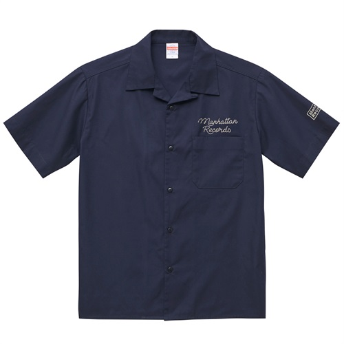 MANHATTAN OPEN COLOR SHIRT DARK NAVY(M)