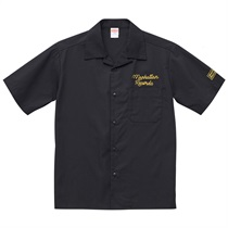 MANHATTAN OPEN COLOR SHIRT BLACK(L)