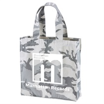 MANHATTAN CANVAS TOTE BAG(WHITE WOODLAND)
