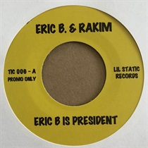 ERIC B IS PRESIDENT/LONG RED