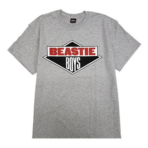BEASTIEBOYS LOGO S/S TEE-GRAY(XL)