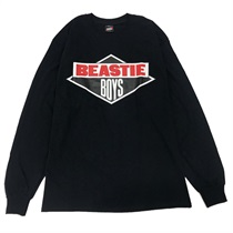 BEASTIEBOYS LOGO L/S TEE-BLACK(XL)