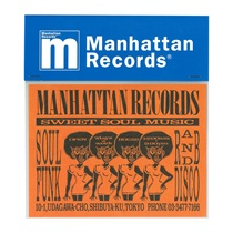 MANHATTAN 40th: 復刻ショッパー BIG STICKER