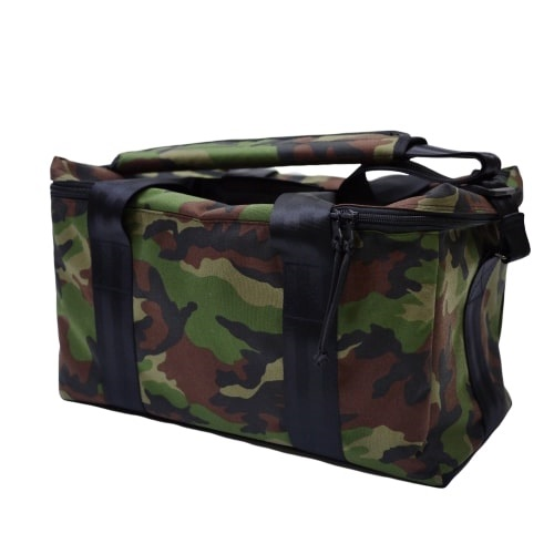 45 RECORD BAG(WOODLAND CAMO)