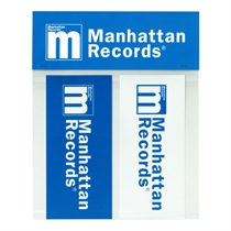 MANHATTAN LOGO STICKER (SMALL) [2P SET]