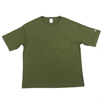 BIG SILHOUETTE POKE-TEE CITY GREEN (XL)