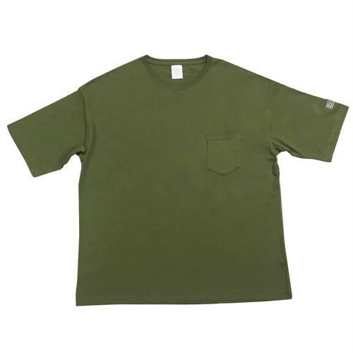 BIG SILHOUETTE POKE-TEE CITY GREEN (M)