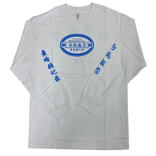 COLLABO LONG SLEEVE TEE(WHITE XL)