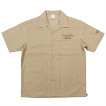 MANHATTAN OPEN COLOR SHIRT MOCHA BEIGE(L)