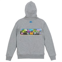 MANHATTAN 40TH × TABOO1 GRAFFITI HOODIE (M)