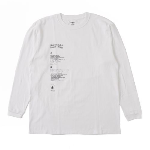 WHITE M:N.B.A.S.T LONG T-SHIRT