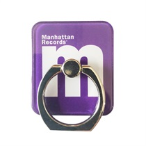 M LOGO SMARTPHONE RING (PURPLE)