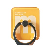 M LOGO SMARTPHONE RING (YELLOW)