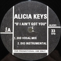 IF I AINT GOT YOU (DIO REMIXES) (USED)