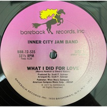 WHAT I DID FOR LOVE (USED)