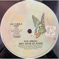 WHY LEAVE US ALONE (USED)