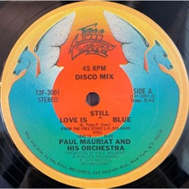LOVE IS STILL BLUE (USED)