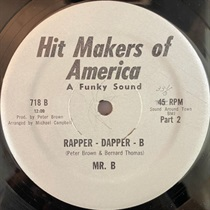 RAPPER - DAPPER - B (USED)