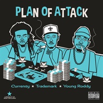 PLAN OF ATTACK (TRANSPARENT BLUE VINYL)