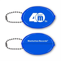 MANHATTAN 40th LOGO RUBBER COINCASE