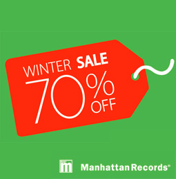 Manhattan Records 2014 WINTER SPECIAL NOVELTY CAMPAIGN & SALE